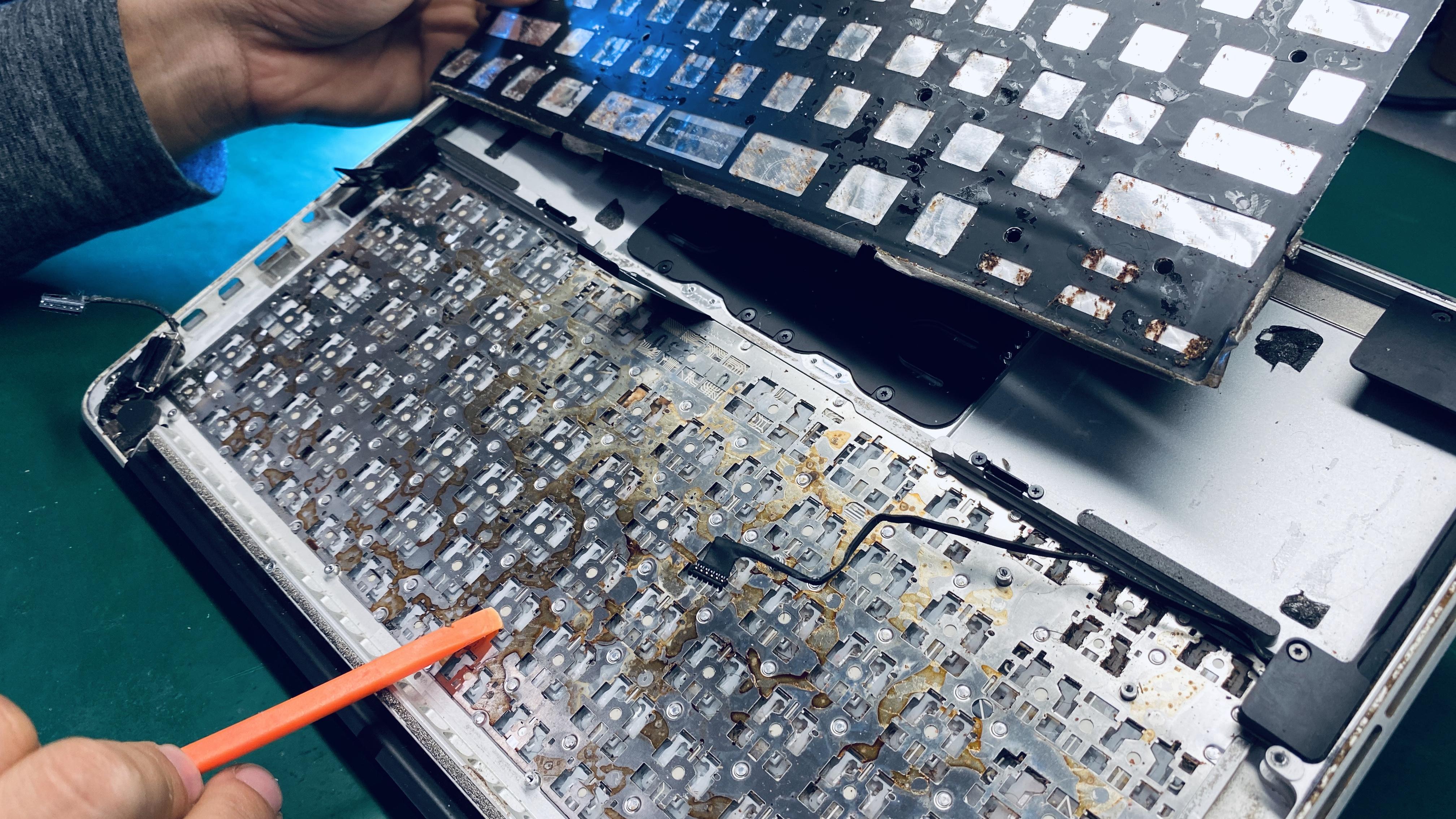 keyboard replacement liquid damage repair