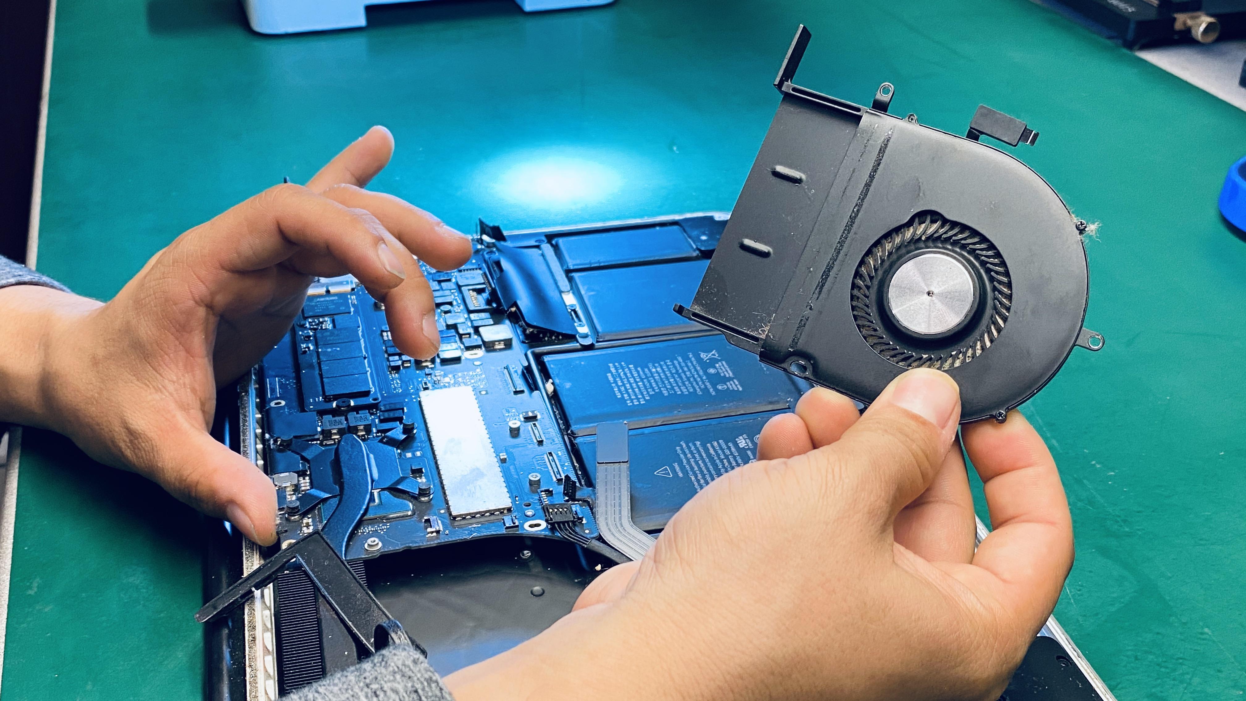 mac book fan repair